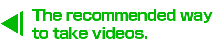 How to take recommended videos